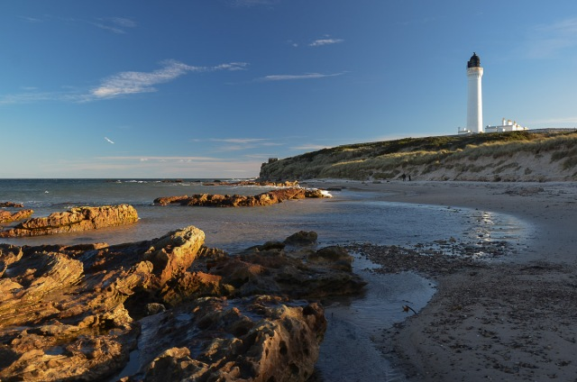 Covesea Lighthouse Lossiemouth