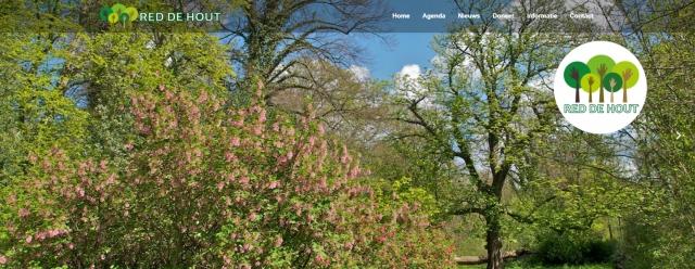 Red de Hout website header